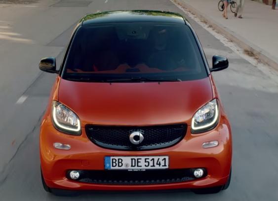 Canzone pubblicità Nuova smart fortwo non cambi mai Marzo 2015, cambio automatico