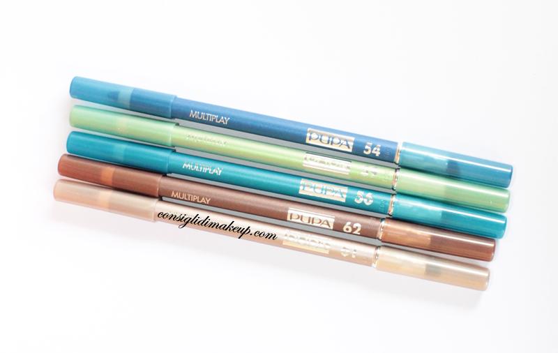 nuovi colori multiplay matite occhi pupa