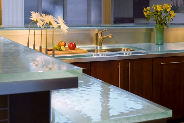 Decora hogar 5 encimeras para tu cocina v deo consejos - Encimeras de cristal ...