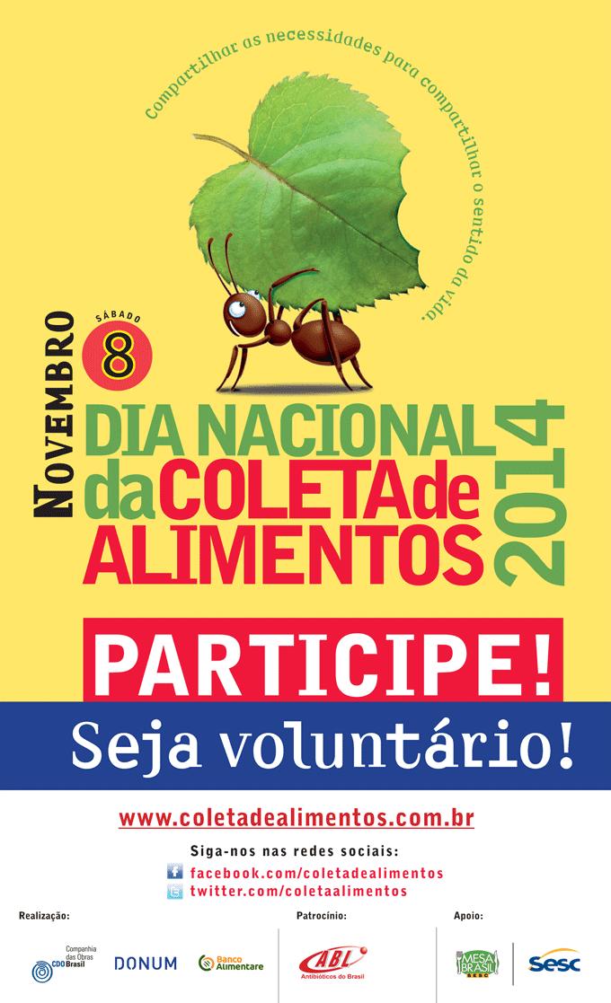 dia nacional de coleta de alimentos