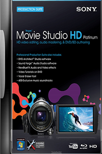 Vegas Movie Studio HD Platinum 10