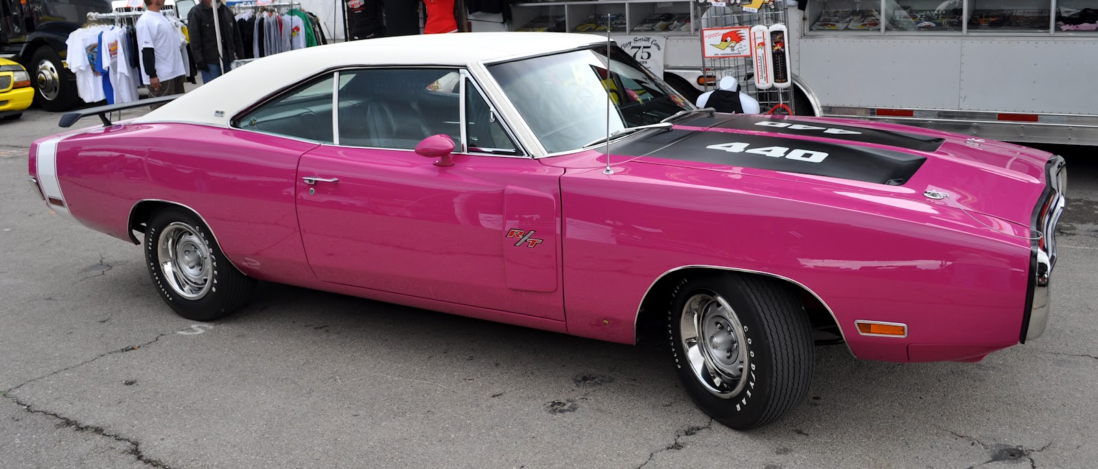 Just A Car Guy Pink Mopars The Only Pink Musclecar Probably Yes I Know That Chrysler