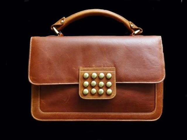 Maheen Hussain Sheepskin & buffalo leather Bags Collection 2013