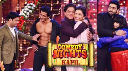 Comedy Nights With Kapil [HAPPY NEW YEAR TEAM] 18th OCT 2014 WEBHD 480p 300mb