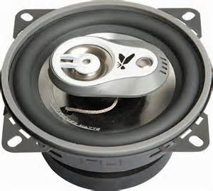 Ada dua spesifikasi terutama yang perlu diperhitungkan dikala pilih speaker audio mobil anda yakni