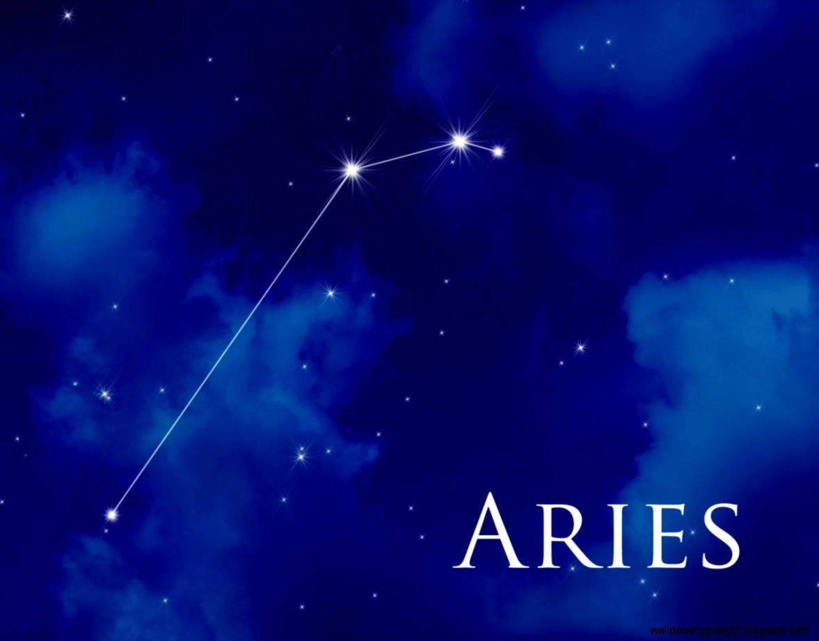 Aries Zodiac Wallpaper Background 10229 Wallpaper