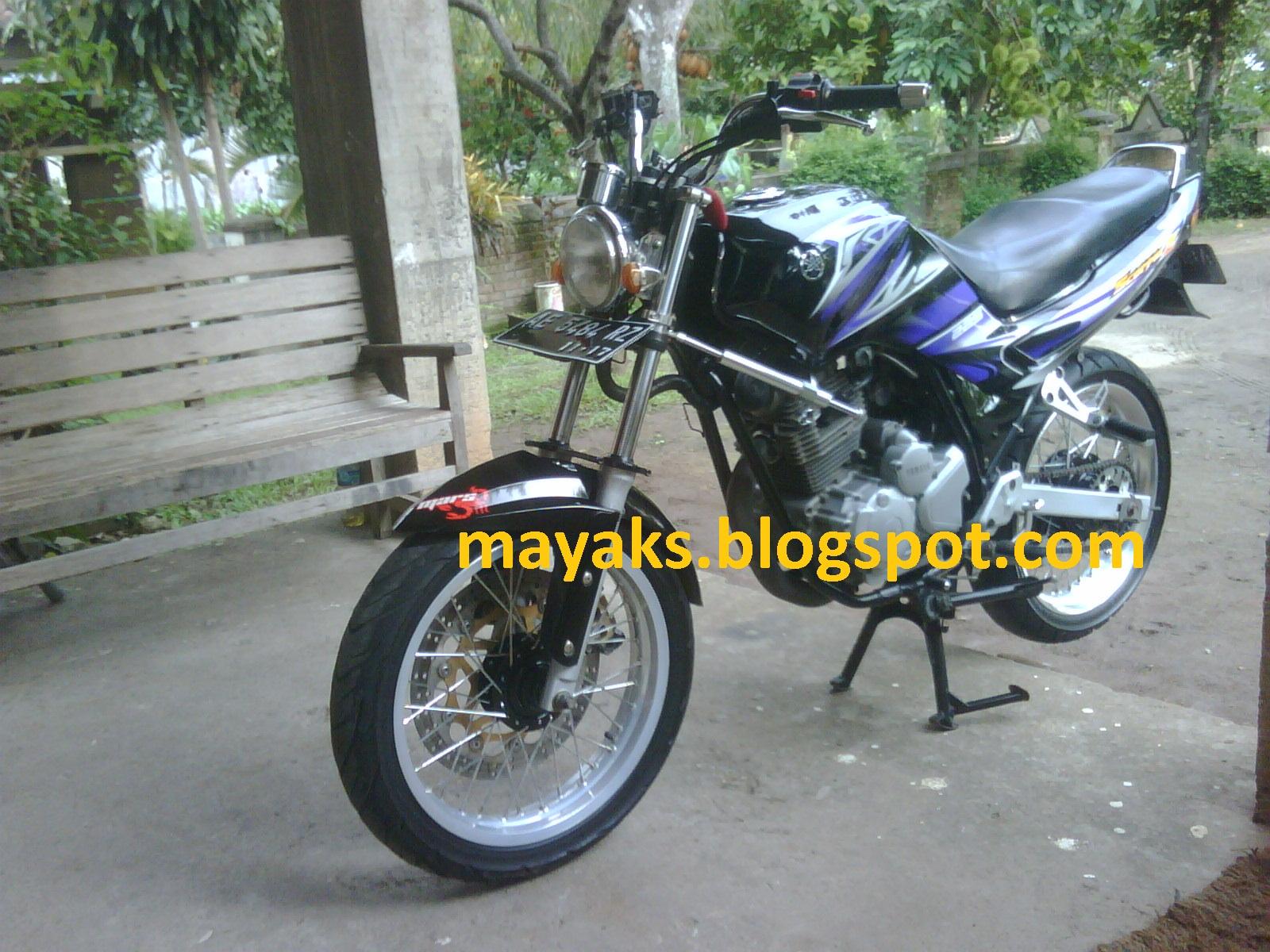 Modif Yamaha New Scorpio