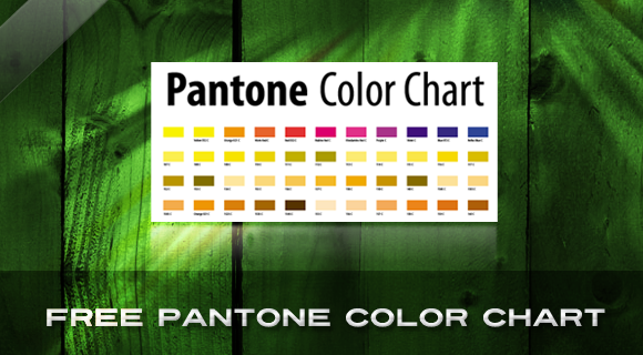 Free Download! Printable Vector Pantone Chart | Learn 2 Design