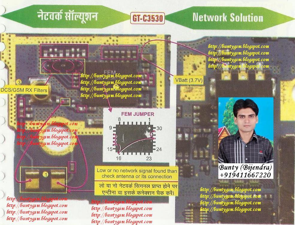 samsung c3530 network solution by buntygsm mobile repairing institute