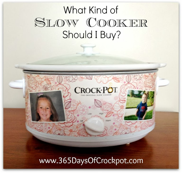 In the market for a new slow cooker?  Read this before purchasing!  Tips for buying a new slow cooker.