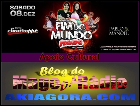Blog do Mago da Rádio: akiagora.com
