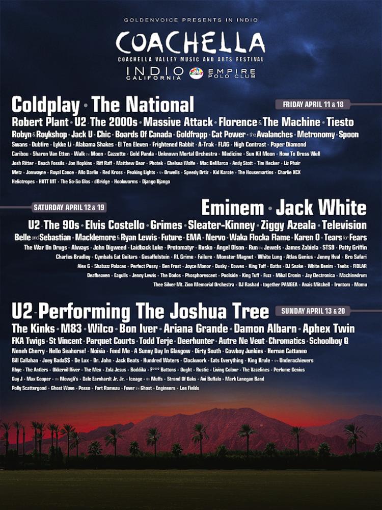 Coachella Announces 2015 Dates & Ticket Info | HYPEBEAST