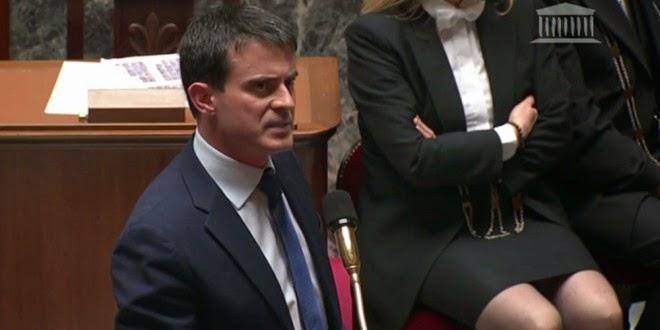 Manuel Valls : l'Assemblée a voté le plan d'économies