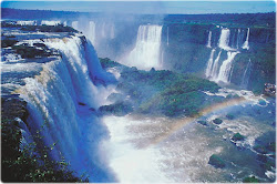Brasil - Cataratas do Iguaçú em 3D