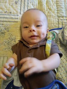 Gideon @ 4 months