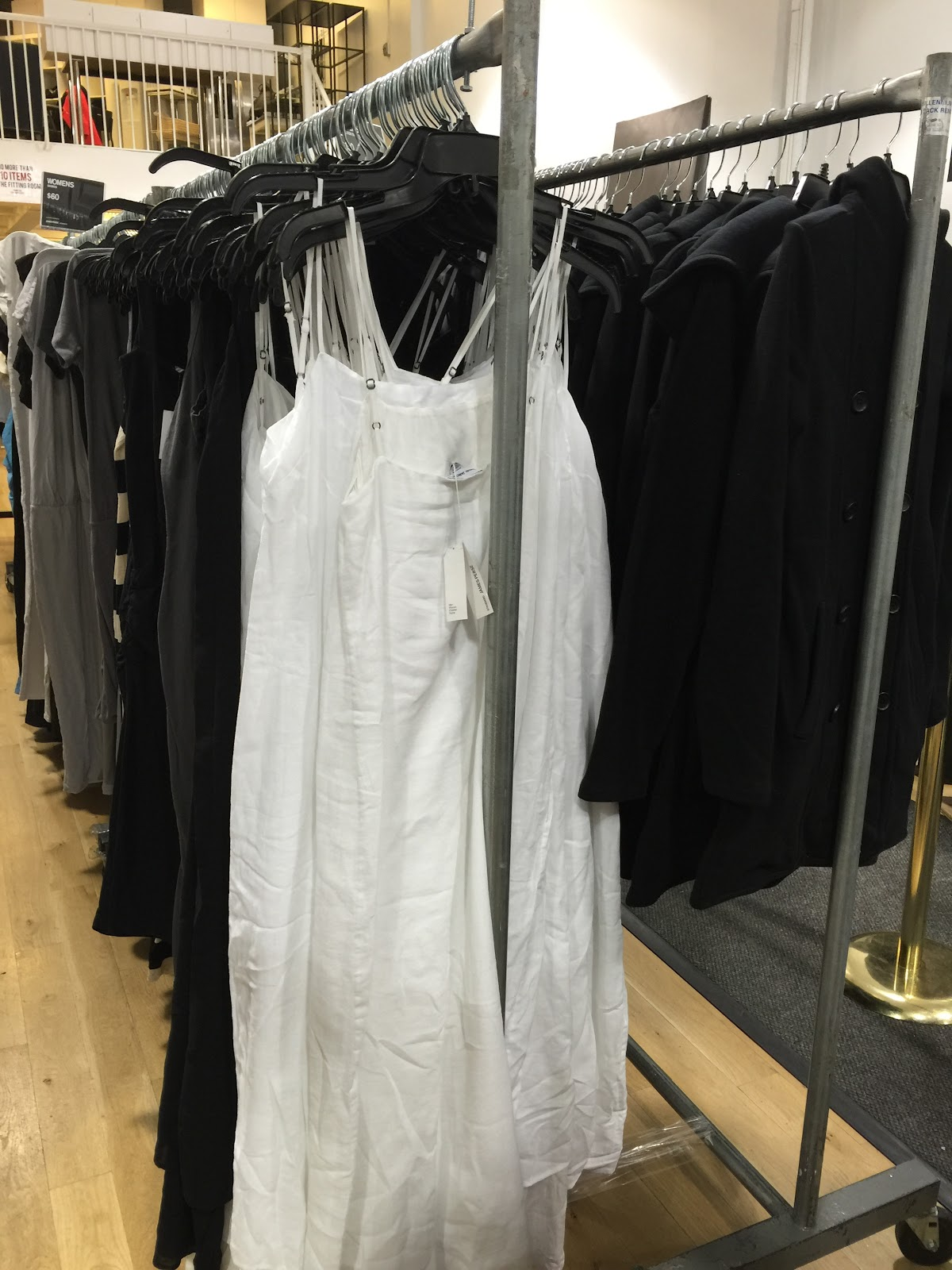 Back To The Basics At James Perse Sample Sale | Practically Haute