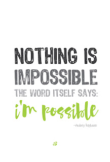 LostBumblebee ©2015 MDBN | NOTHING IS IMPOSSIBLE | FREE PRINTABLE | DONATE TO DOWNLOAD | Personal Use Only.
