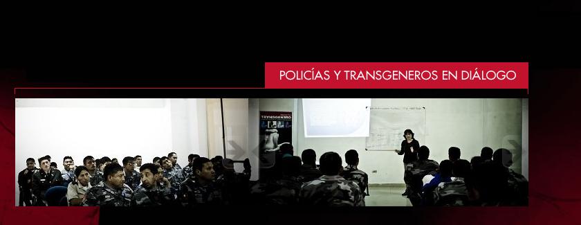 Policías y Transgéneros En Diálogo
