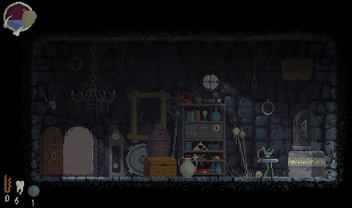 Indie Retro News: Dead Knight - An early WIP dark free Roguelike ...