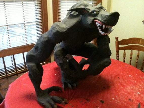werewolf pinata pignatta lupo mannaro