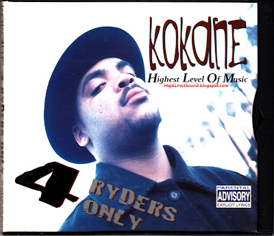 Kokane Feat. Cold 187 - 4 Ryders Only-(Digipak_CDM)-1996-hlm