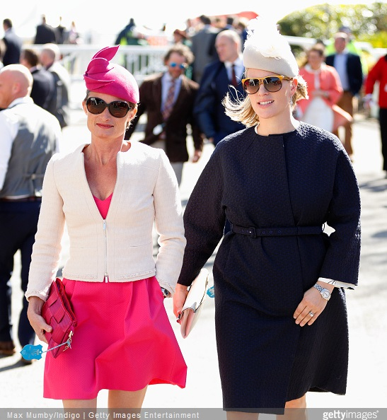 Zara Phillips Style - Dolly Maude and Zara Phillips attend day 3 'Grand National Day' of the Crabbie's Grand National Festival at Aintree Racecourse on April 11, 2015 in Liverpool, England.