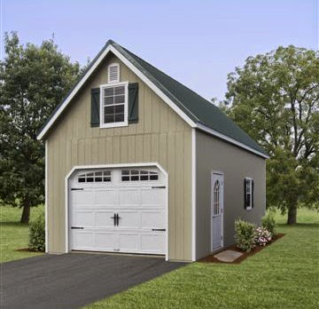 Stoltzfus structures for Two story garage kits