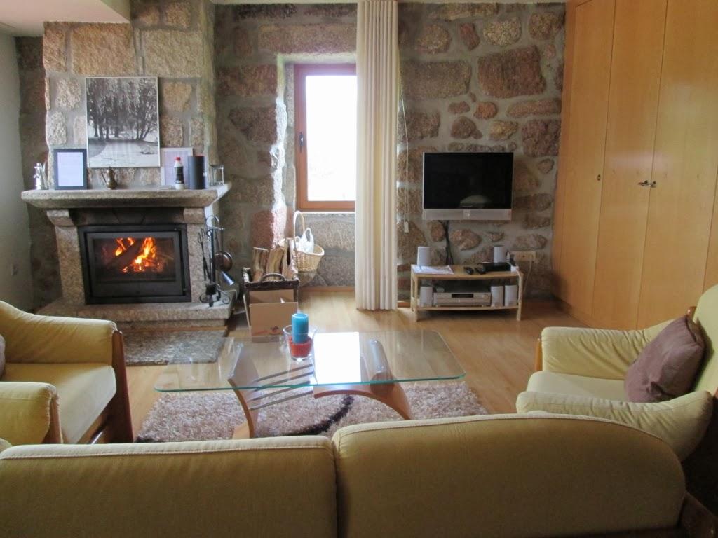Sala de estar com Recuperador de calor