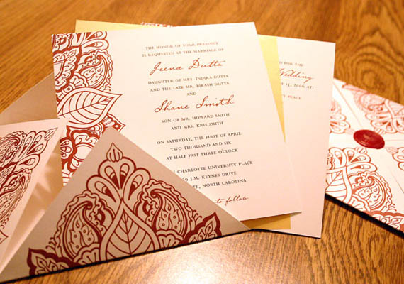Wedding invitation found them www eastsix com click the weddings