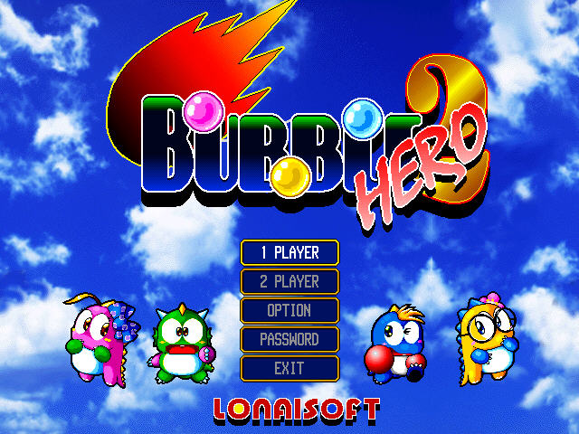 bubble bobble 2 hero