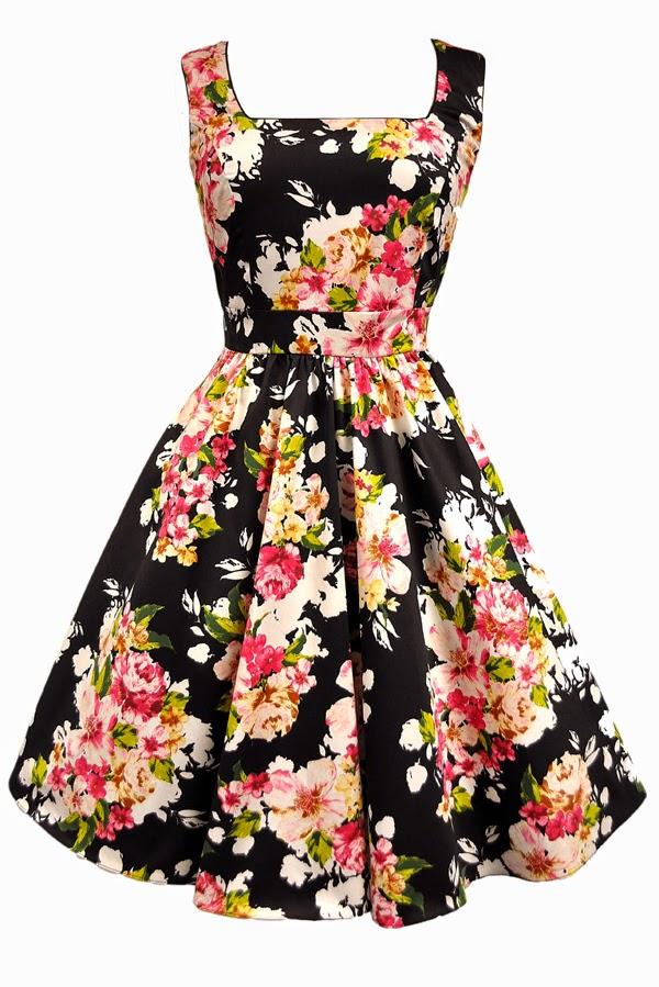 lady vintage dresses