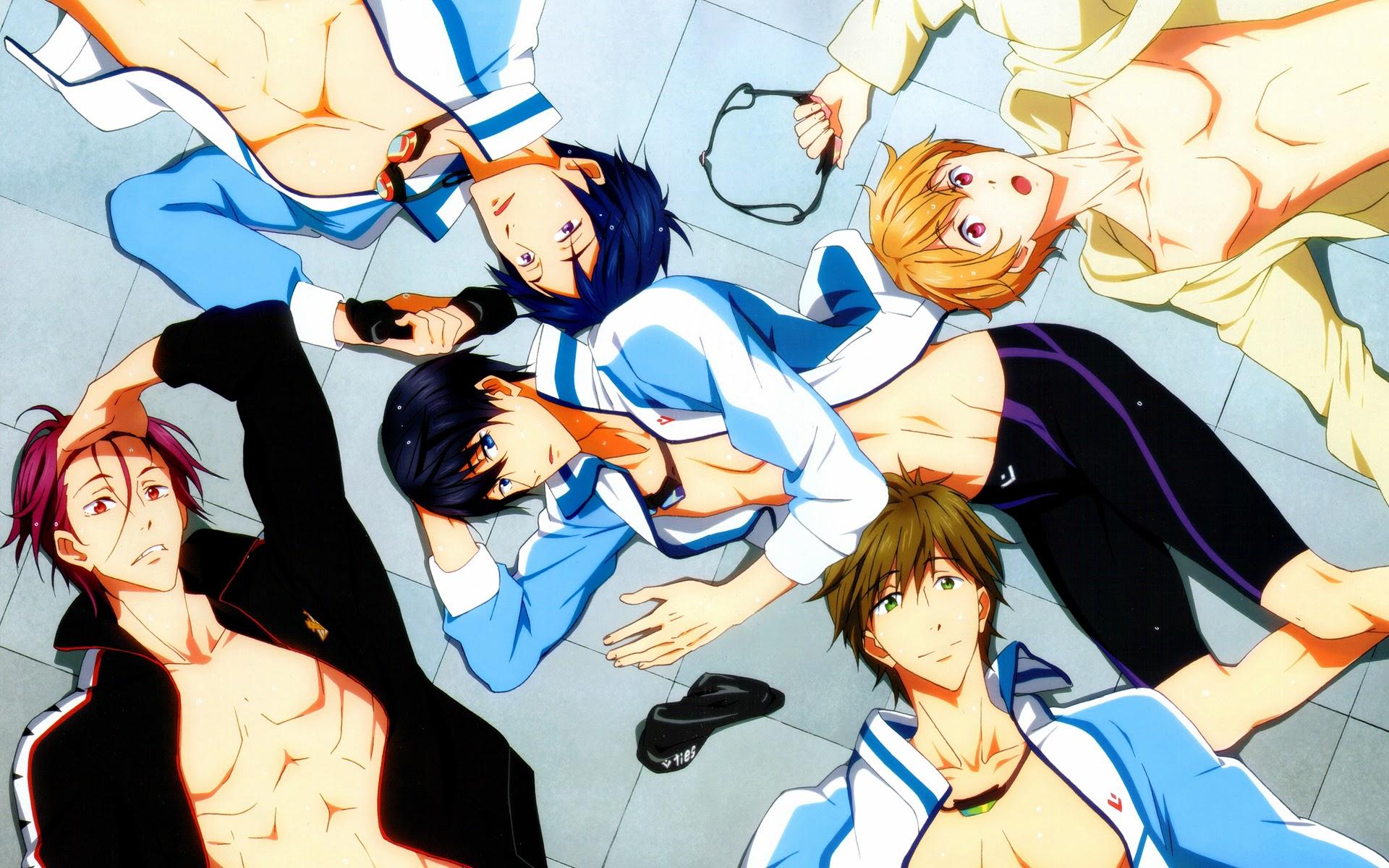 free iwatobi swim club wallpaper makoto images