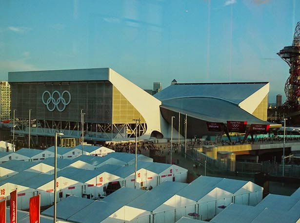 Aquatic center at the London 2012 Olympic Games