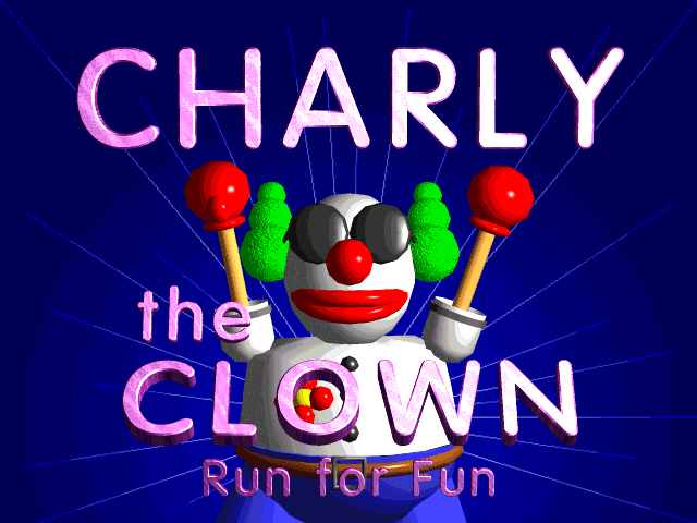 Charly the Clown title screen