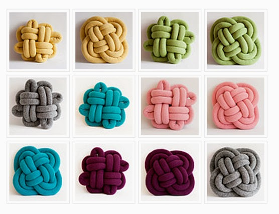 Knitted Pillows Diy