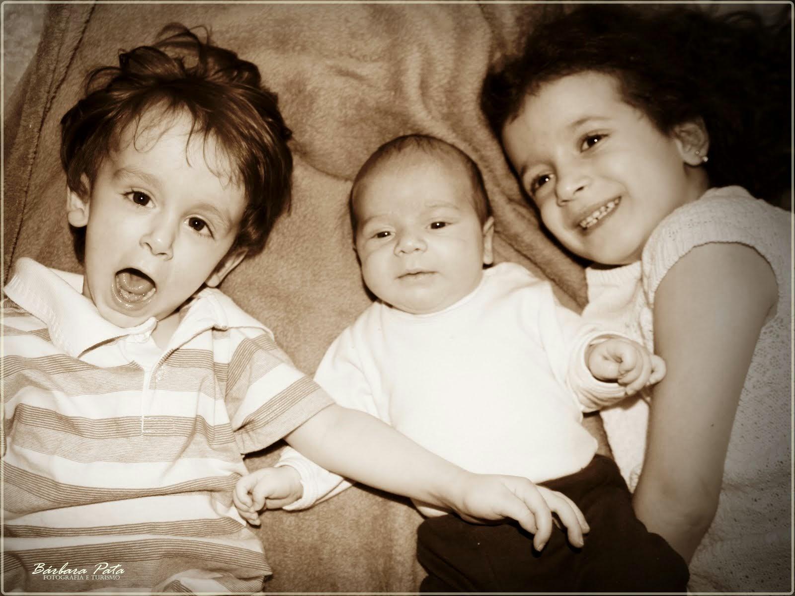 Meu trio completo!