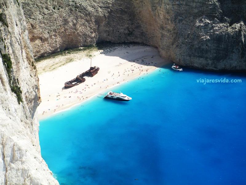 Viajaresvida - Vistas a la Playa del Naufragio