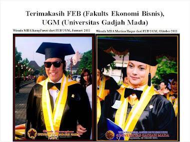 Wisuda Ikang Fawzi Personil BIL PROJECT, dari FEB UGM, 2011