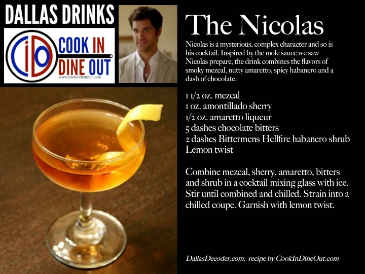 Dallas Drinks The Nicolas