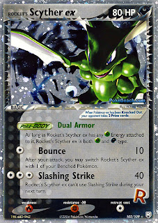 Rocket's Scyther EX Team Rocket Returns Pokemon Card Set