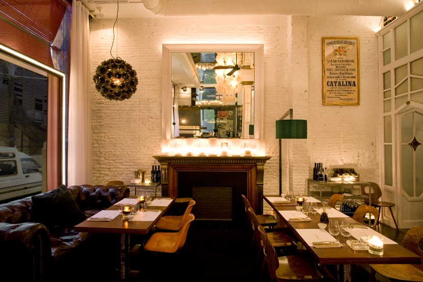 Virlova interiorismo places elclecticismo c lido en el for Big fish restaurant