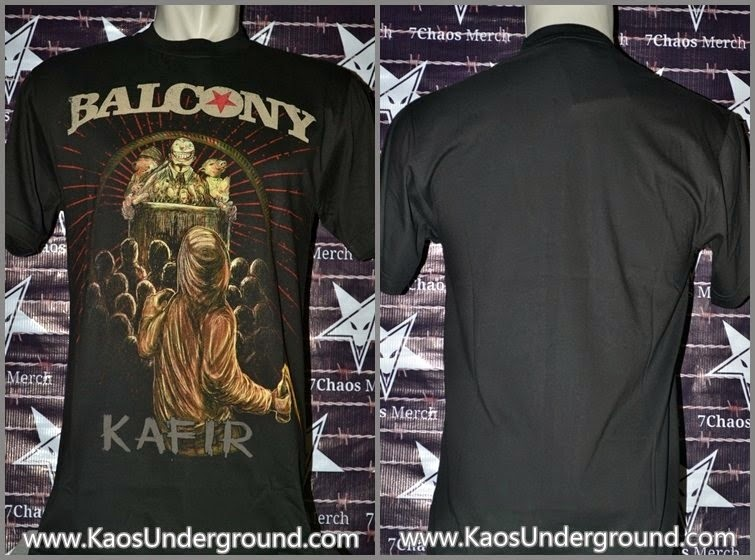 balcony molotov kaosunderground.com riotic hardcore bandung 7chaos merch