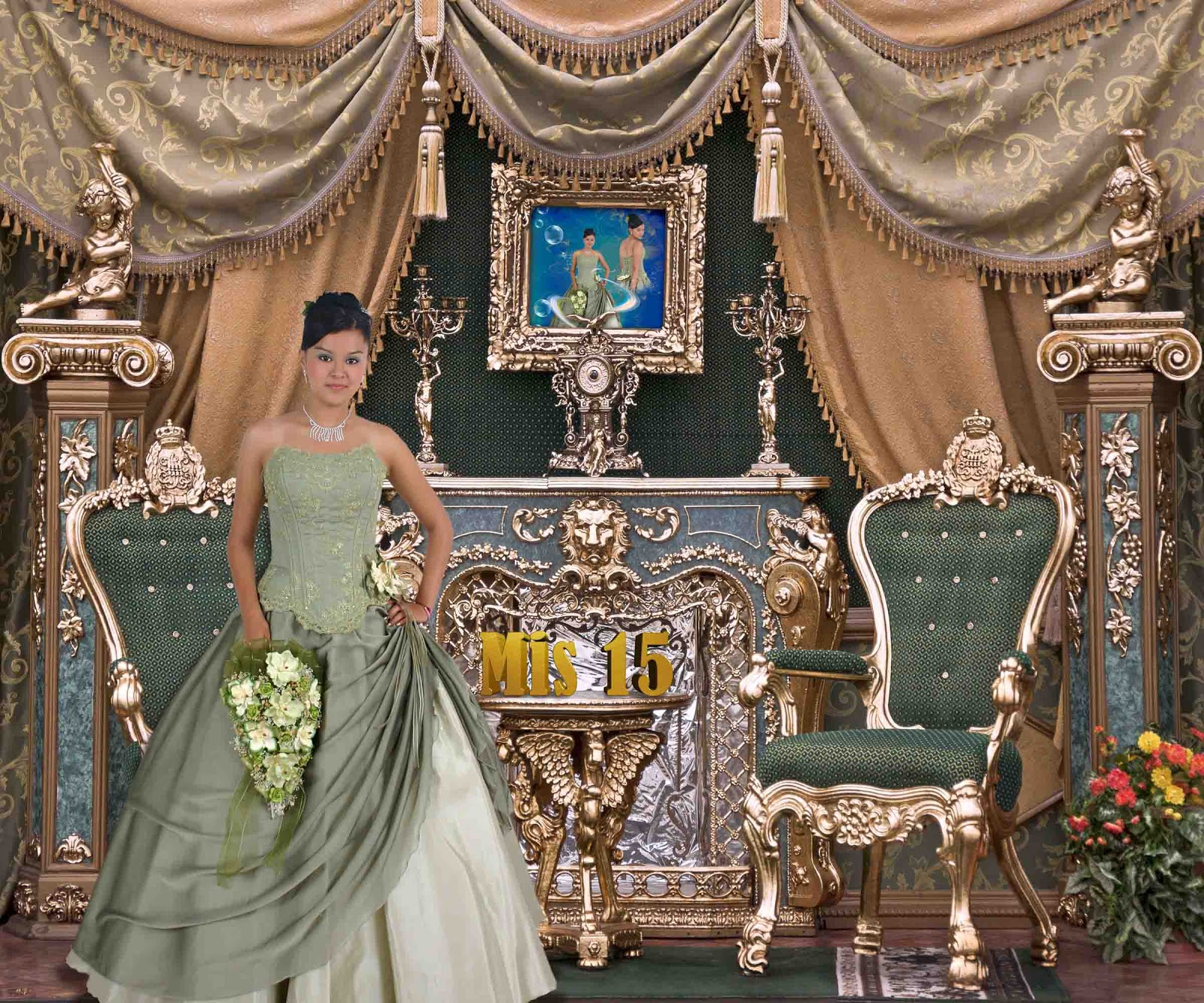 Interior con sillas y chimenea plantillas para photoshop - Chimenea de mesa ...