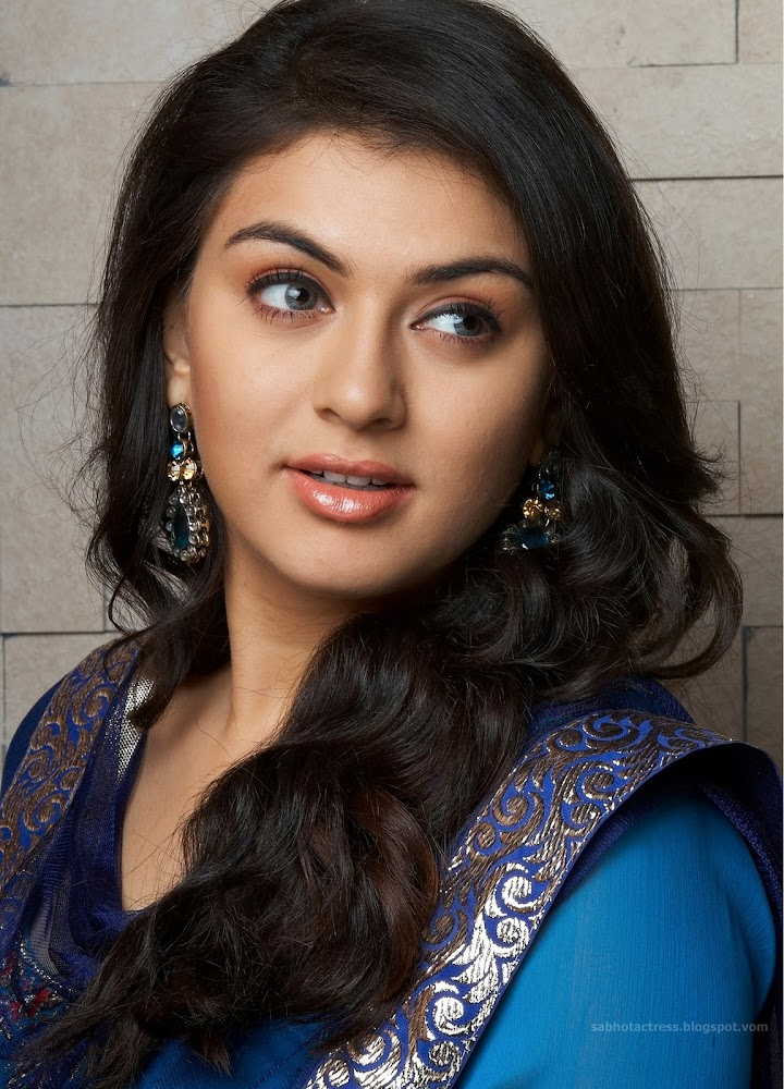 Hansika Cute And Hot Latest Unseen HD Images In Blue And Red Chudithar ...