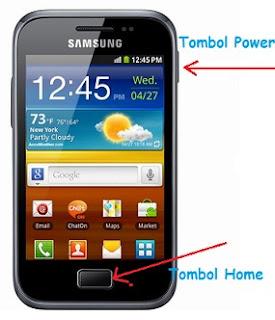 Screenshot Samsung Galaxy Ace Plus