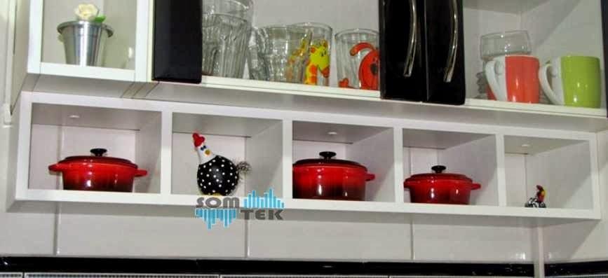 decoracao cozinha nichos : decoracao cozinha nichos:Eu e a Decoração : Nichos de cozinhas
