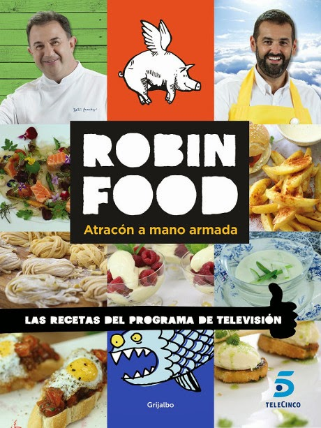 Libros y juguetes 1demagiaxfa libro robin food for Programas de cocina de tve