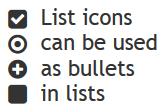 large icons