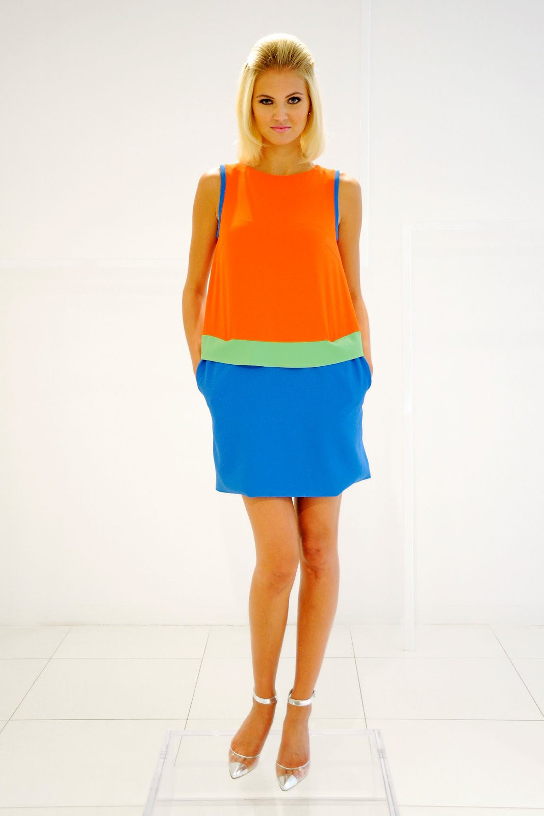 ... those who are afraid of color. It's larger than life and bright as can  be! These are a few of my favorite looks from the Lisa Perry Spring 2013  Ready to ...
