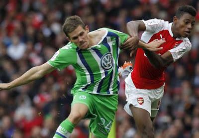Cuplikan Gol Arsenal 1 - 0 VfL Wolfsburg